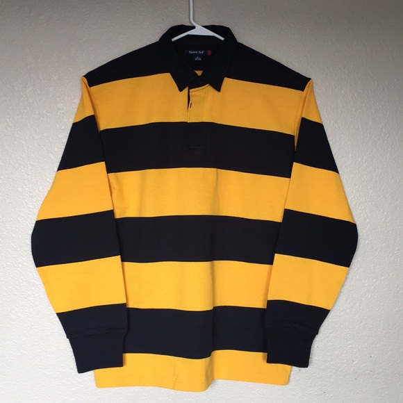 Sport Tek Shirts Sporttek Classic Long Sleeve Rugby Polo Poshmark Stocking vintage polo shirt's and rugby shirt's from timeless brands: poshmark